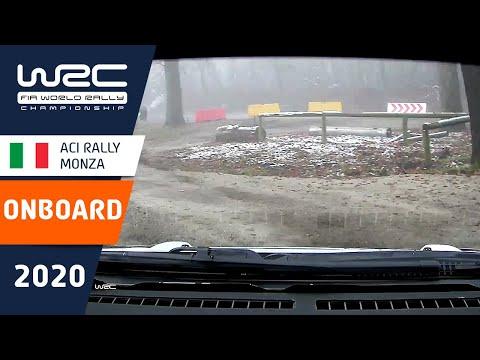 セバスチャン・オジェのオンボード映像。WRC第7戦ラリー・モンツァ シェイクダウン映像