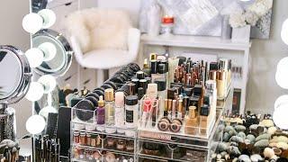 My Makeup Collection & Organization 2018 | RositaApplebum