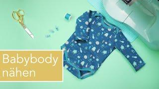 Baby-Body nähen von Lybstes. – Anfängertauglich