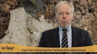 Das transatlantische Freihandelsabkommen – Prof. Wolfgang Berger