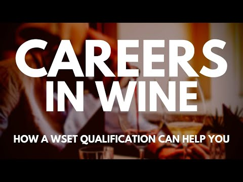 , title : 'A CAREER in WINE - How to get a job in the wine industry