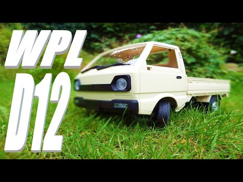 WPL D12 1/10 Scale Kei Truck. Run & Review. Banggood Special.