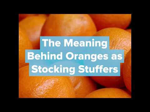 The Meaning Behind Oranges As Stocking Stuffers