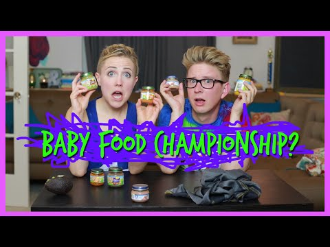BABY FOOD CHAMPIONSHIP! (ft. Tyler Oakley!)