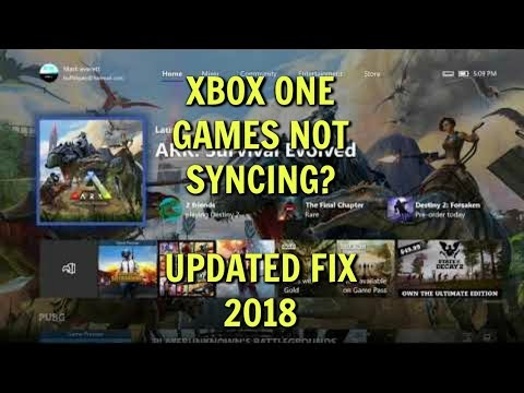 XBOX ONE GAMES NOT SYNCING?