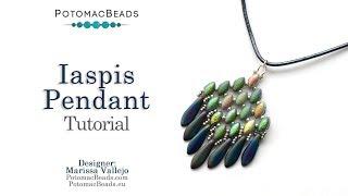 Iaspis Pendant - DIY Jewelry Making Tutorial By PotomacBeads