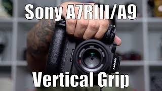 Sony VG-C3EM Vertical Grip for Sony A7RIII A7III A9