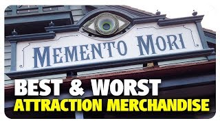 BEST AND WORST Attraction Merchandise Locations | Best and Worst | 07/18/17