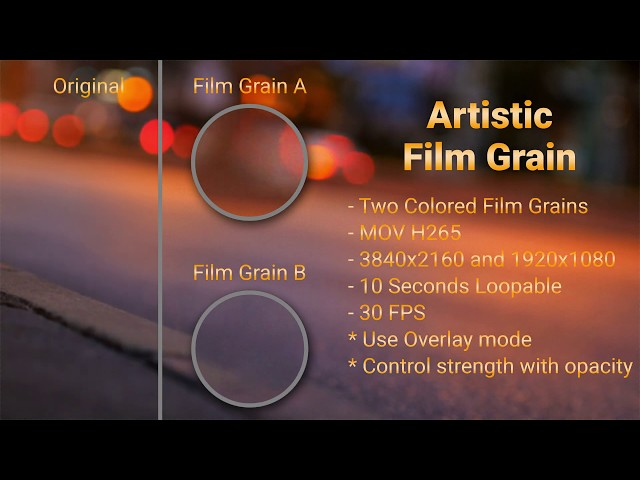 Artistic Film Grain