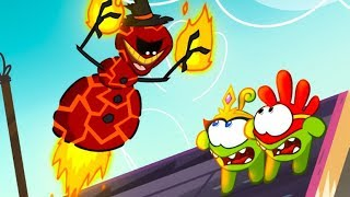 Om Nom Stories - Super-Noms: Burnman (Cut the Rope) Kedoo ToonsTV