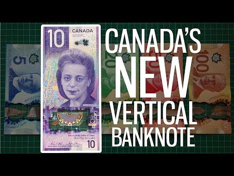 Canada's Bank Notes Look Cool