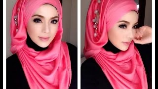 Hijab Tutorial For Easy Hijab Styles ★ New Hijab Tutorials ★ Three Easy Hijab Styles ★ Hijaabhills