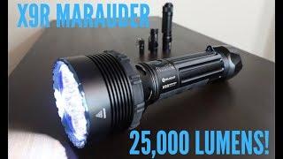 Olight X9R Marauder | 25,000 Lumens!