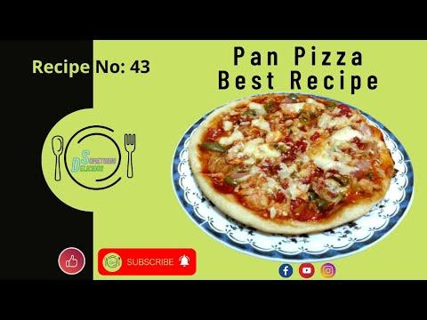 Mazedar Best Pan Pizza Recipe   Recipe by Something Delicious