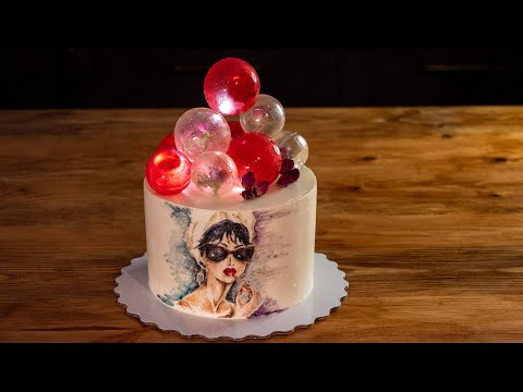 Как приготовить светящиеся шары для торта