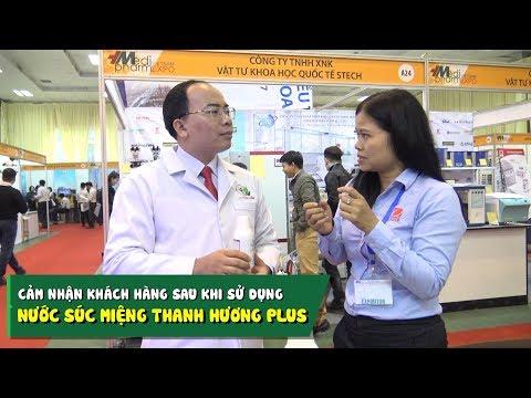 Chị Worrawamol Chanonnoi chia sẻ sau khi sử dụng nước súc miệng Thanh Hương Plus