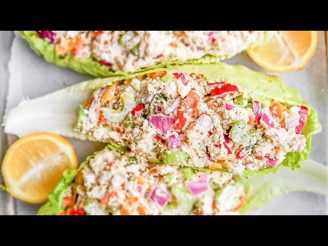 KETO Chicken Salad | Easy Keto Lunch Recipes