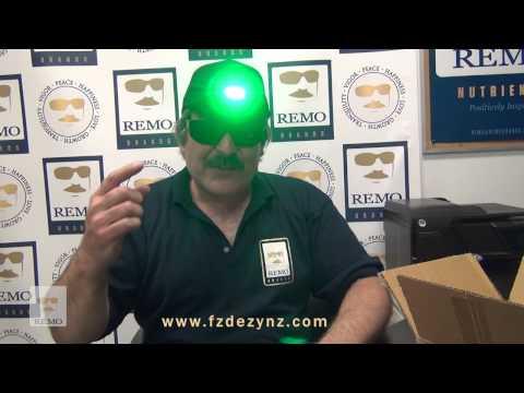 Green LED Ball Cap FZDEZYNZ.com