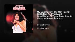 My Man Medley: The Man I Love/I Got It Bad And That Ain't Good/Some Of These Days (Live At...