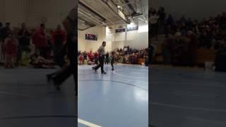 7 year old Spazz girl wrestling boy west orange