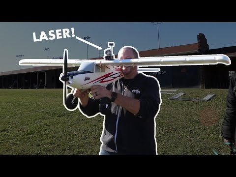 laser-tag-on-rc-airplane-test--vlog0128