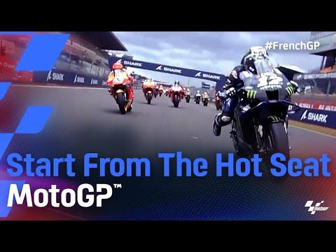 MotoGP 2021 第5戦フランス スタート直後のオンボード映像