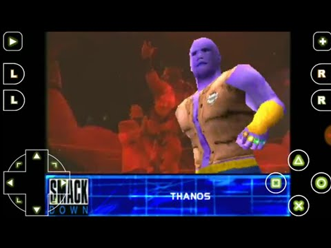 THANOS vs TRIPLE H WWF 2 SMACKDOWN ps1