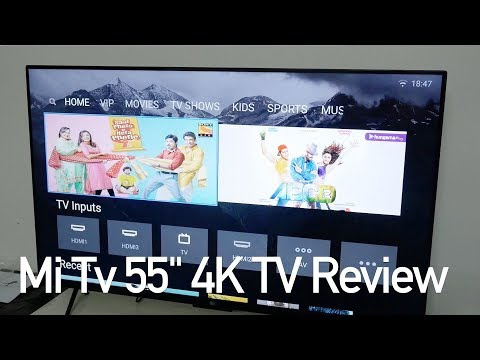 Xiaomi Mi TV 4 – 55″ HDR 4K Smart TV Review