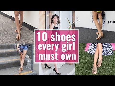 10雙百搭鞋款 10 shoes every girl must own