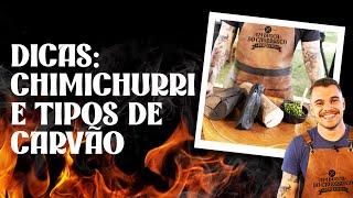 MOLHO CHIMICHURRI + dicas de CARVÃO para churrasco: confira agora!