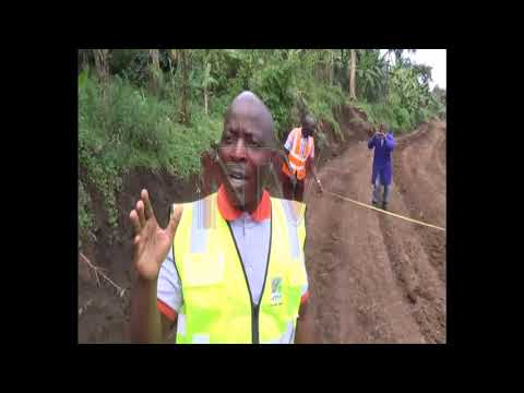 UNRA starts opening up roads in MT Elgon area