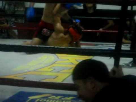 BAMF MMA CENTER MAC ABRILLO(red headgear and gloves)