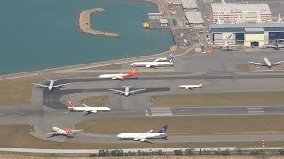 Best Plane Spotting Location Hong Kong Airport with Air Traffic Control