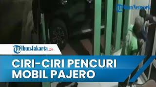 Terungkap Ciri-ciri Pencuri Mobil Pajero di Bekasi, 2 Orang Pakai Jaket Ojek Online