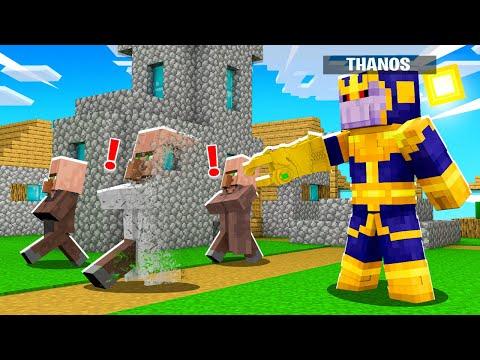 Minecraft BUT im THANOS! (Infinite Power)