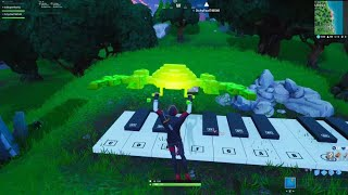 Visit A OverSized Piano And Play The Sheet Music At A Oversized Piano Fortnite Season 10