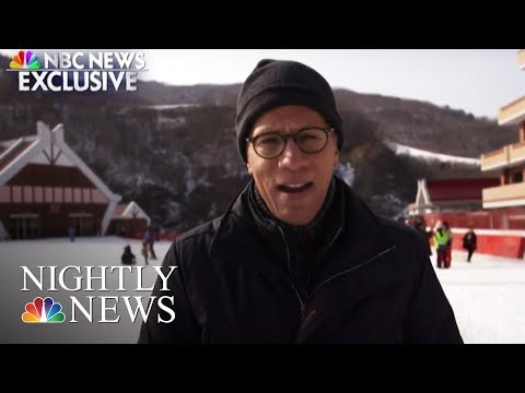 Inside North Korea: Lester Holt Reports From A Modern Ski Resort | NBC Nightly News