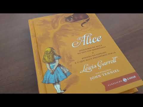 Review -Livro Alice: Aventuras de Alice no País das Maravilhas & Através do Espelho