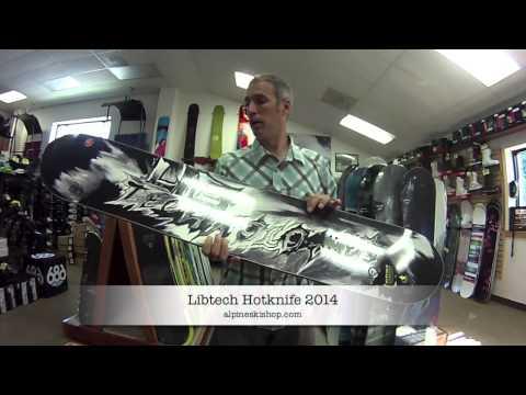 lib tech hot knife snowboard review 2014