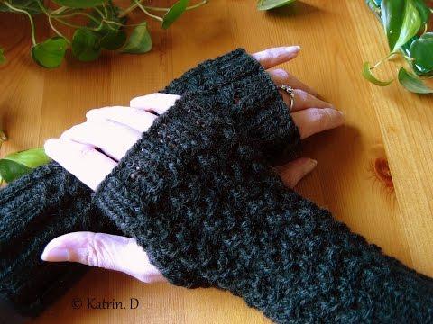 Fingerlose Handschuh.....stricken