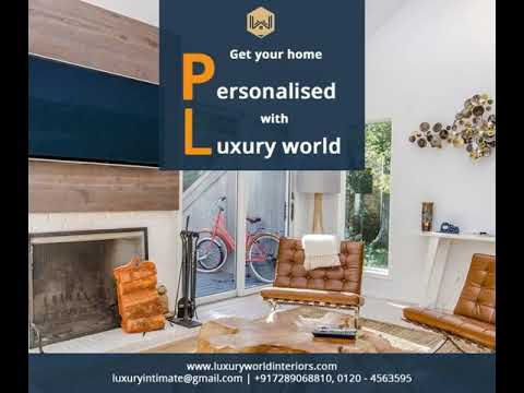 Get your home designed by the best interior designers of Delhi NCR- Luxury World Interiors and turn your dream into reality