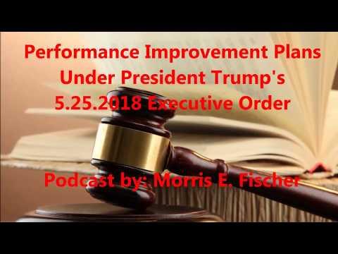Performance Improvement Plans Under President Trump's 5.25.2018 Executive Order