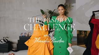The Dressing-Up Fashion Challenge with Thandie Newton   NET-A-PORTER