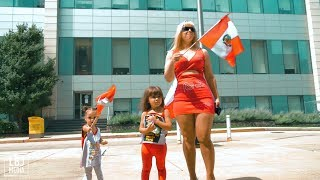 Peruvian Independence Day Flag Raising Ceremony - Allentown, PA