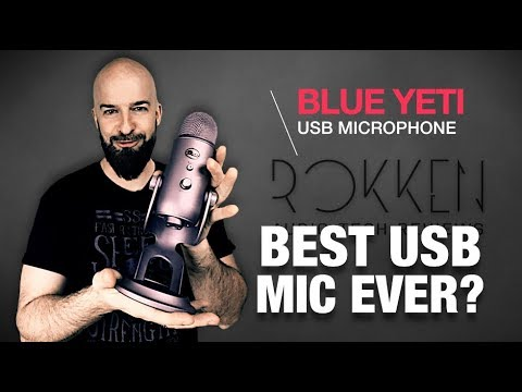 Best USB Microphone? Blue Yeti Mic Review 2017
