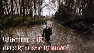 Witcher 3 Extreme modded Photoreal Ultra graphic  NEW Apex Realistic Reshade