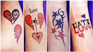 Heart Touching Tattoo   Temporary Love Tattoo   5 Best Love Tattoo