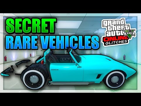 GTA 5 ONLINE- Top 8 Rare & Secret Storable Vehicles Online (Best Rare & Best Modded Cars In GTA 5)