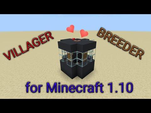 Minecraft - Villager breeder - MCPE/Xbox/PC/Switch/Windows 10