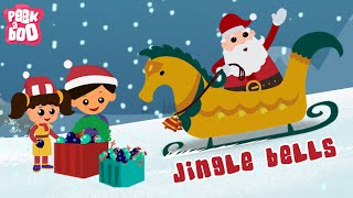Jingle Bells | Christmas Songs For Kids | Nursery Rhymes for Children By Peekaboo Kids
